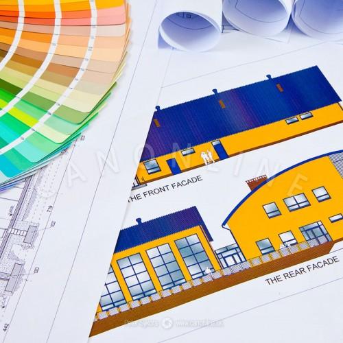 CAD/GIS na natieraný papier 140g