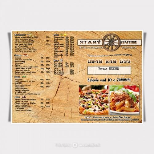 Nápojové a jedálne lístky